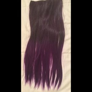 Accessories - Purple Ombré Hair Extensions